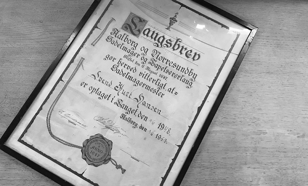 Saugsbrev fra 1948